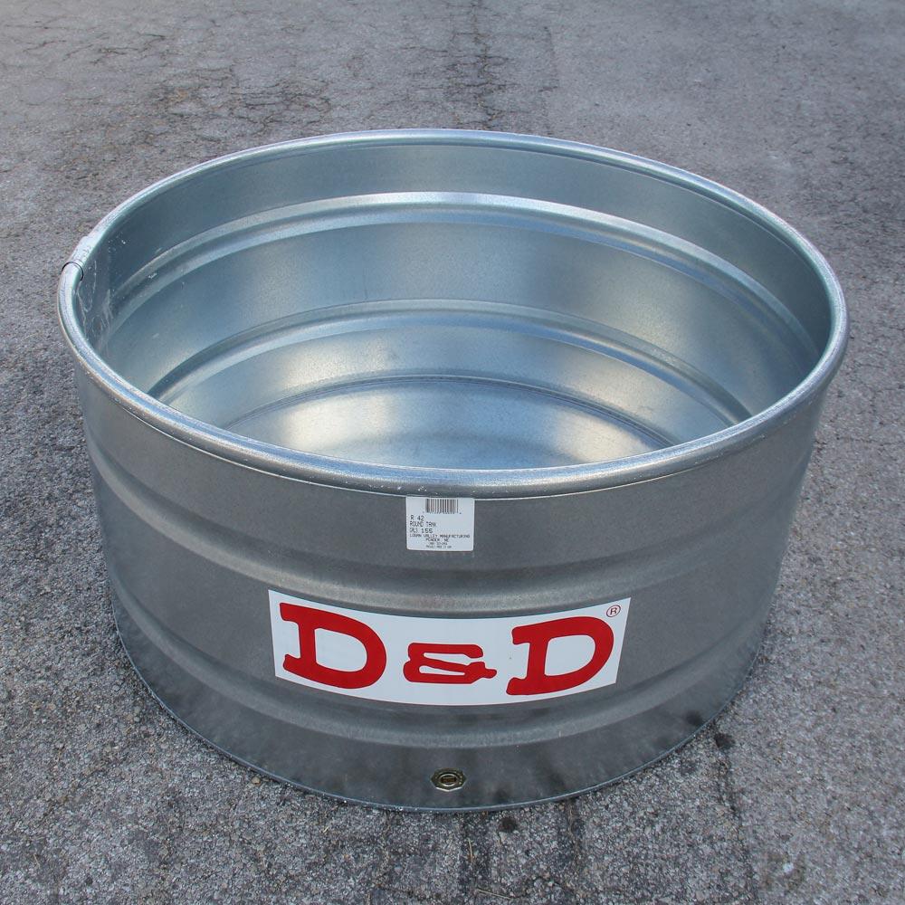 Galvanized-round-water-trough-42top